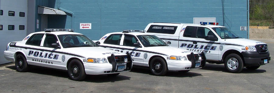 vehicles done for the Watertown CT Police Department