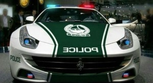 One week after unveiling a Lamborghini Aventador as its latest patrol car