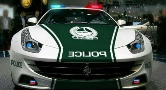 One week after unveiling a Lamborghini Aventador as its latest patrol car  1