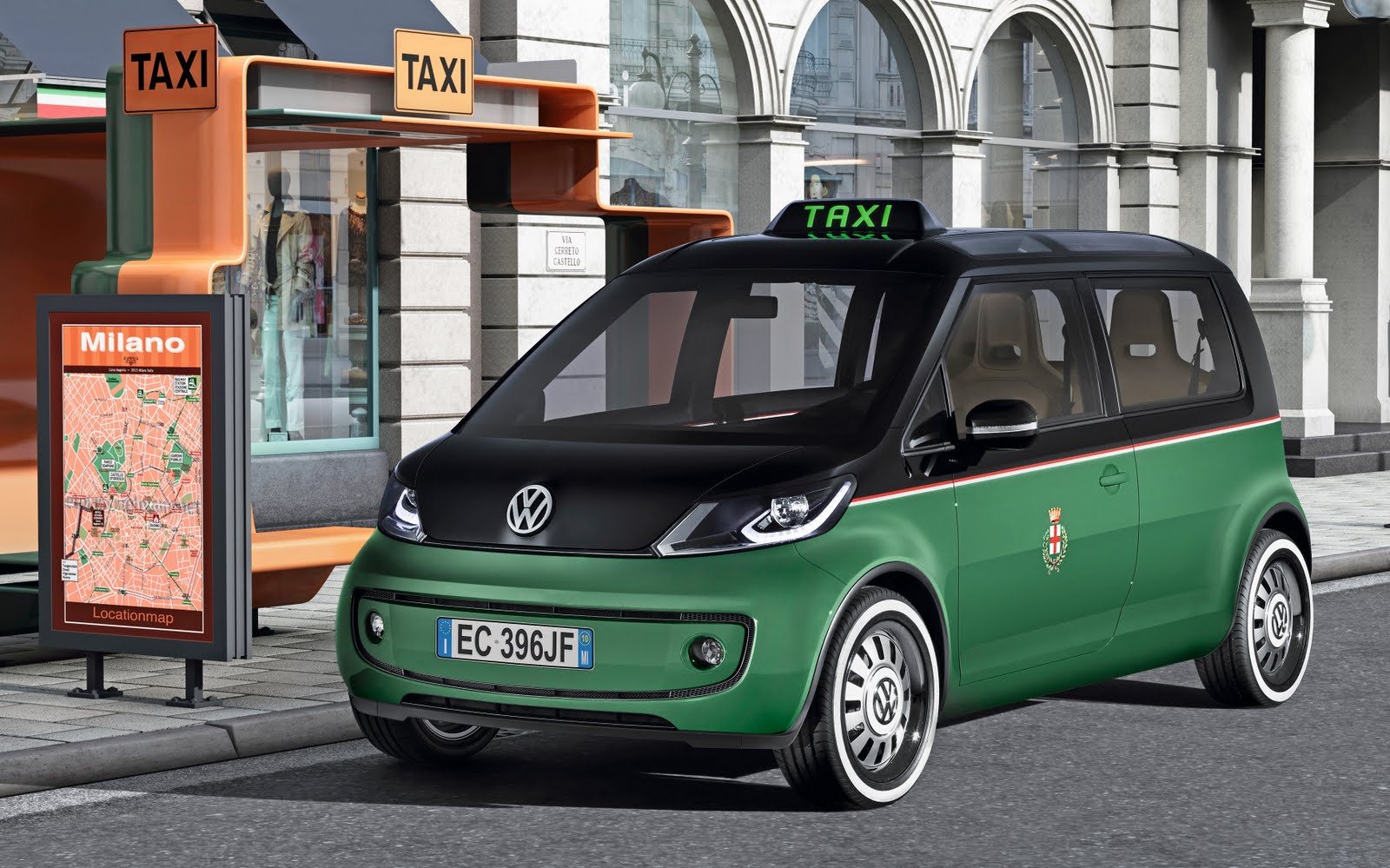 VW shows Italian Taxi concept  23