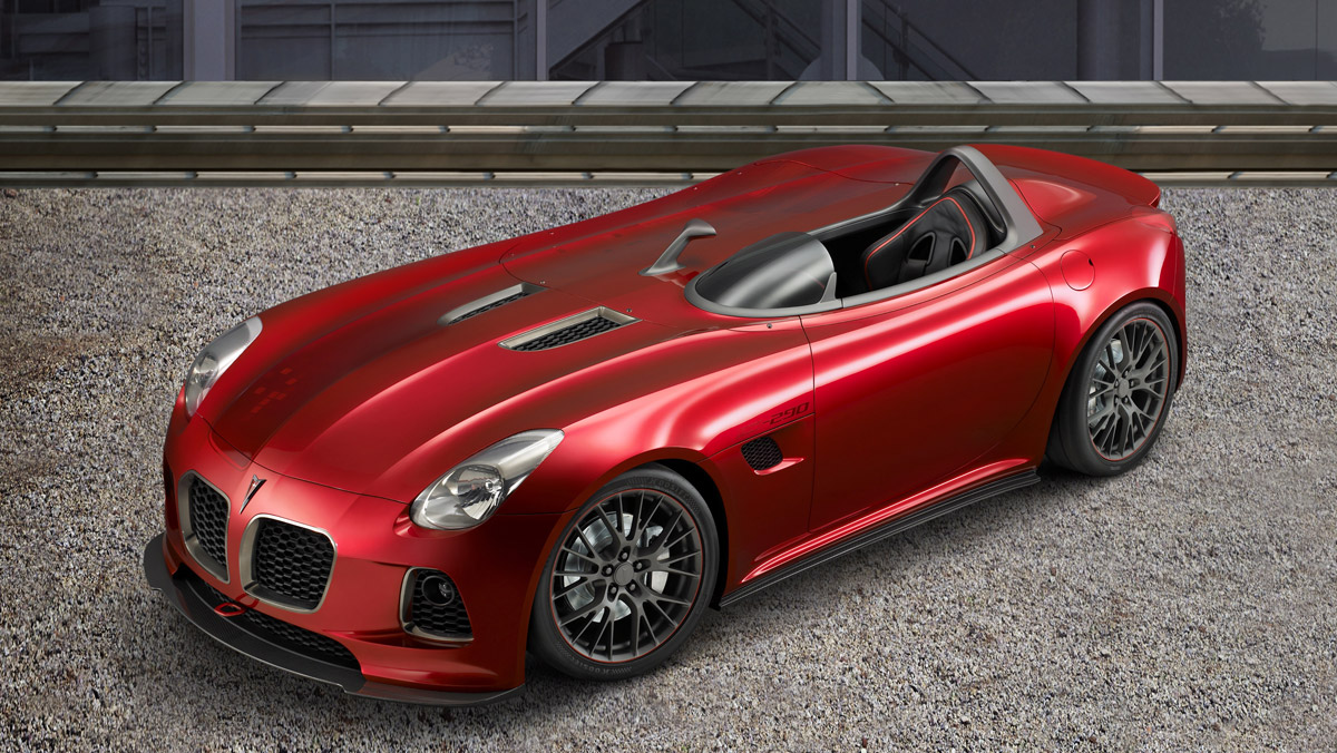 Pontiac has unveiled the newest concept version of the current Pontiac   17