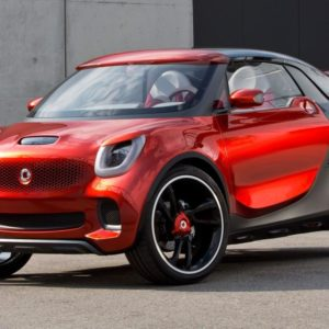 Smart forstars concept front three-quarter view