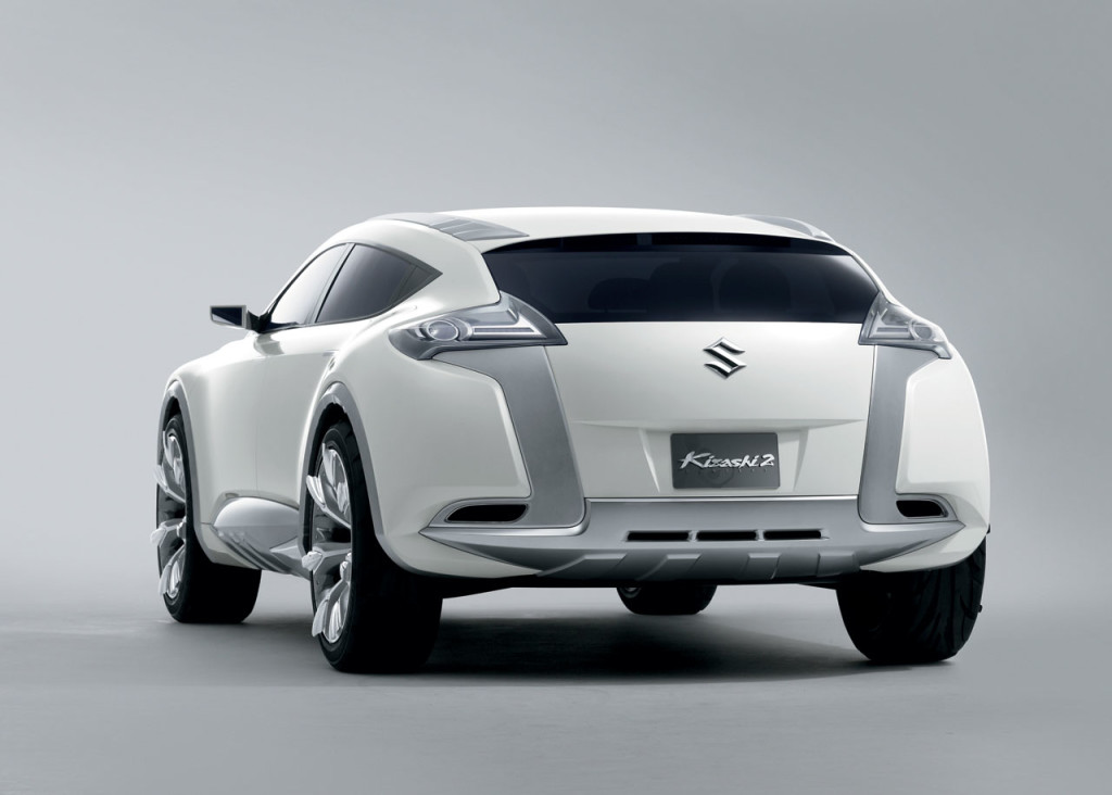 Suzuki Concept Kizashi 2 is a crossover sports wagon with a dynamic design ...  1