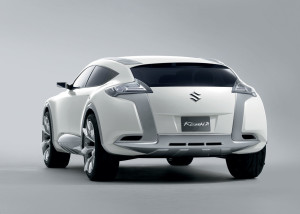 Suzuki Concept Kizashi 2 is a crossover sports wagon with a dynamic design …
