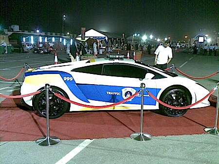 The New Qatari Police Car