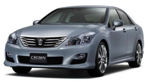 Toyota Crown luxury hybrid saloon