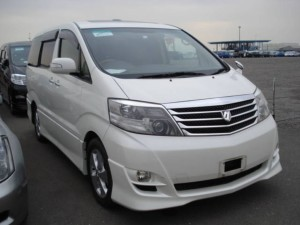 Toyota launched 2 minivans the Alphard and Vellfire.