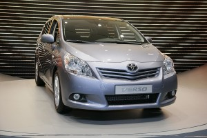 The all-new Toyota Verso compact minivan has officially revealed at the 2009 …