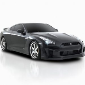 Ventross Nissan GT-R 2009 – Front Side View