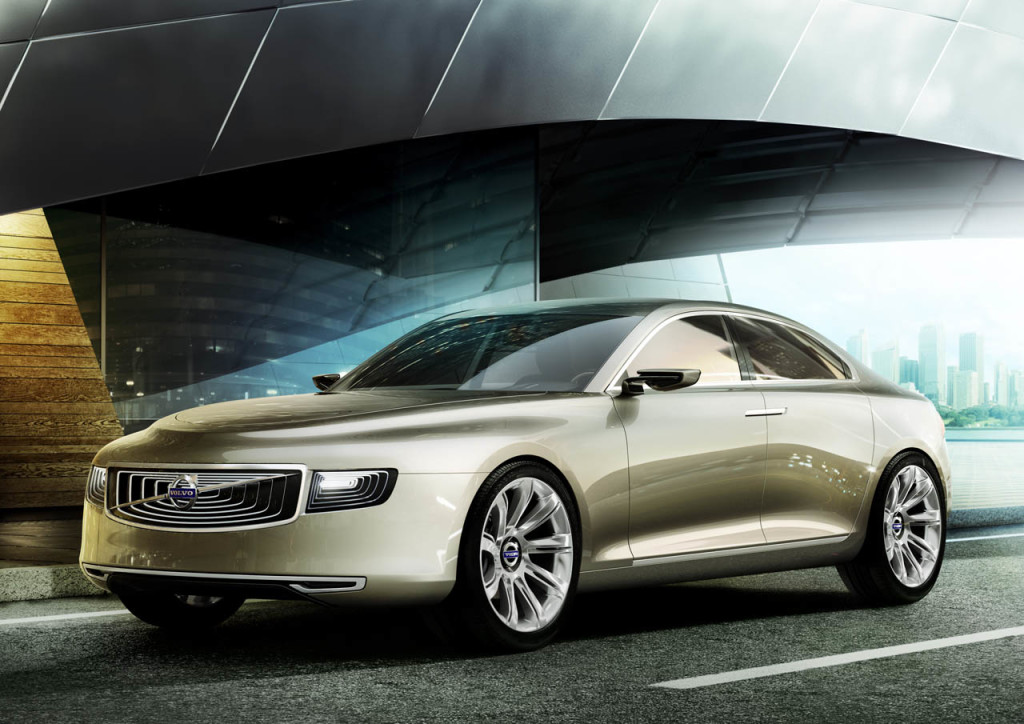 Volvo Concept Universe to challenge the S-class and 7
