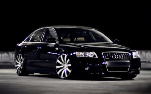 audi car black beautiful cars
