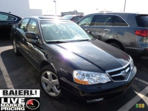 ACURA TL 3 2 TYPE S IN NIGHTHAWK BLACK PEARL 044372 CAR