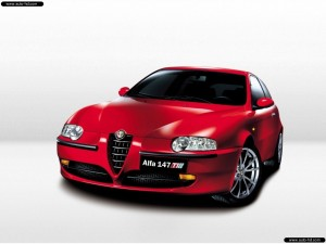 ALFA ROMEO 147 TI LARGEST CAR