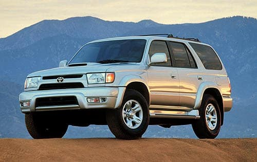 TOYOTA SUBMODEL 4RUNNER SUV CAR