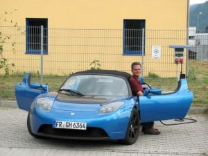 ESLA ROADSTER 65 000 KM UNTERWEGS