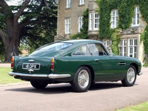 ASTON MARTIN DB4 GT CAR