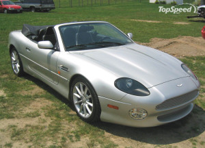 ASTON MARTIN DB7 VANTAGE CAR