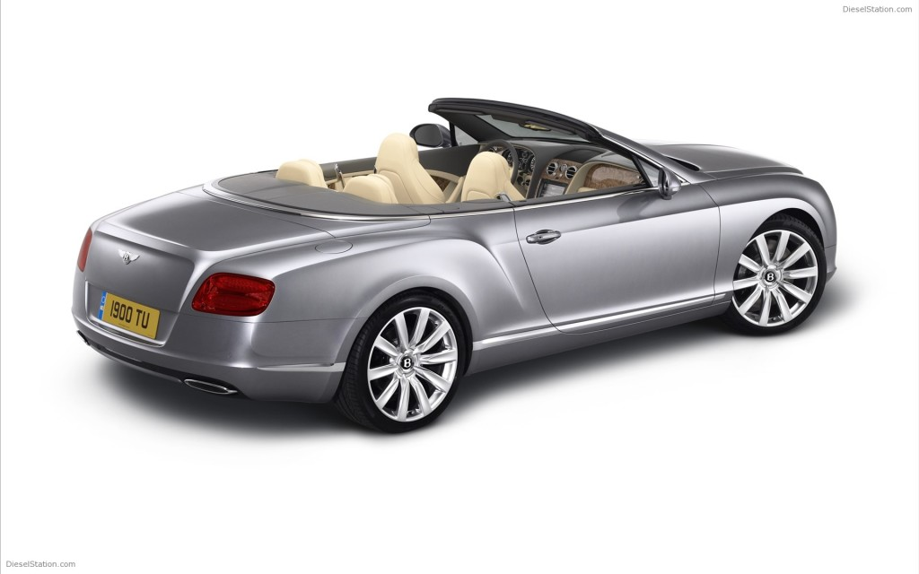 BENTLEY CONTINENTAL GTC CONVERTIBLE 2012 WIDESCREEN EXOTIC CAR