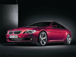 BMW M6 RED DARK  NEW CARS