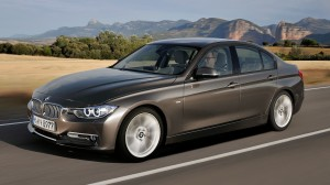 2012 BMW 3 SERIES MODERN LINE FRONT CARS