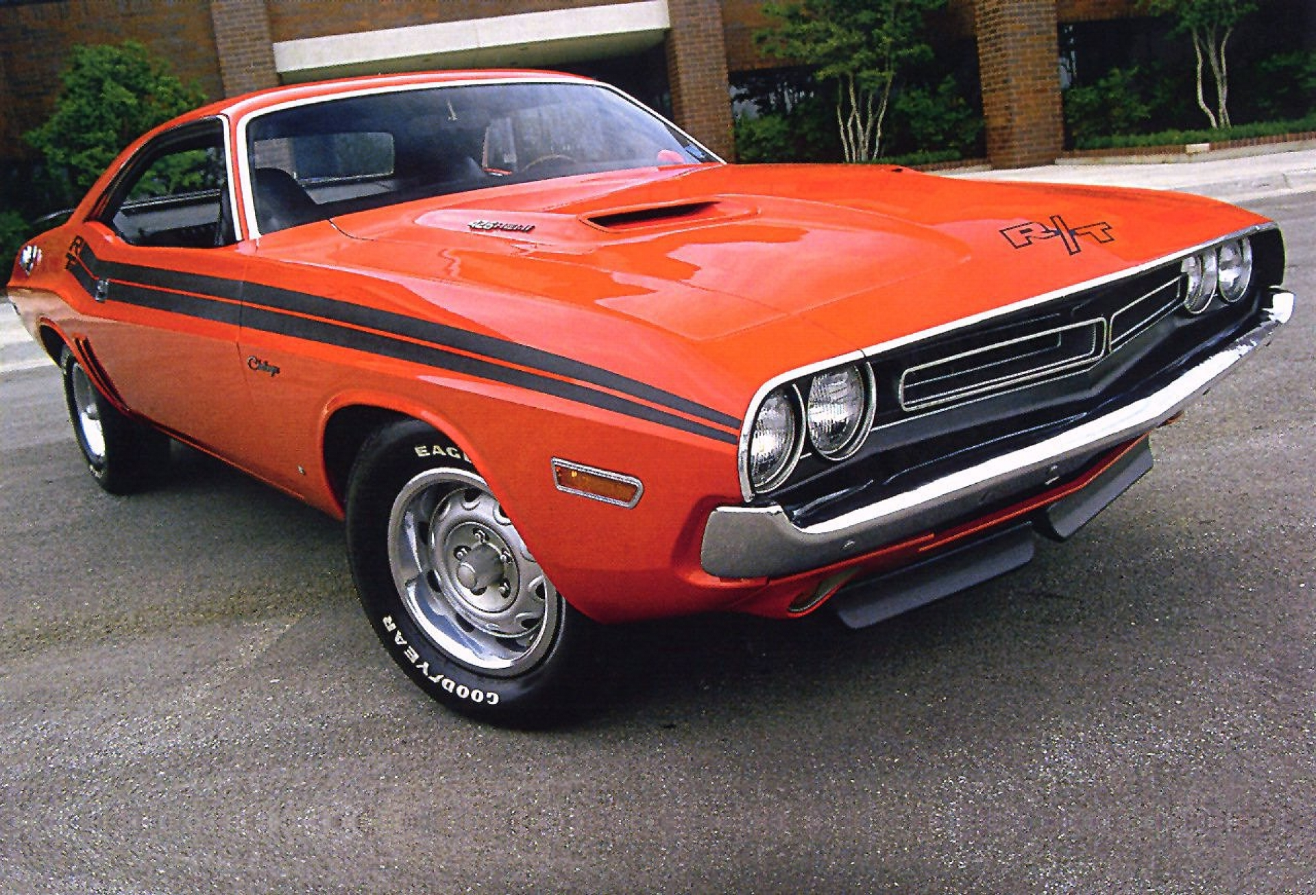 CLASSIC AMERICAN MUSCLE CARS  5