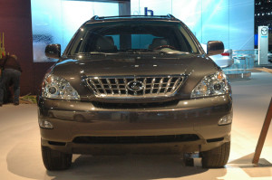 LEXUS RX 350 PEBBLE BEACH CAR