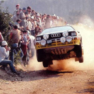 AUDI QUATTRO RALLY CAR TURBO SOUL