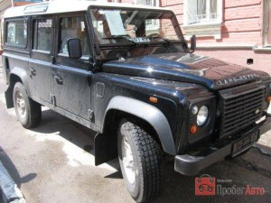 LAND ROVER DEFENDER 2007  CAR