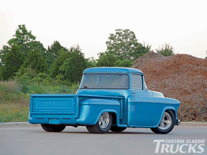 CHEVY PICKUP TRUCK REAR BUMPER CAR