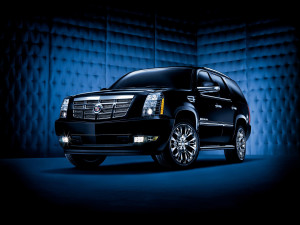 CADILLAC ESCALADE 2009 BLACK CAR