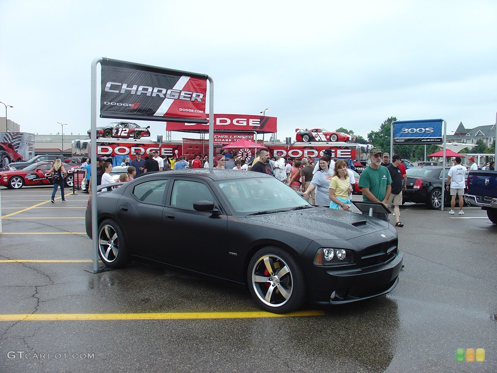 DODGE CHARGER IN FLAT BLACK GTCARLOT NEWS CAR
