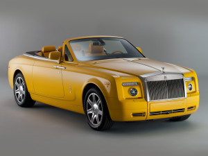 ROLLS ROYCE COMPARTMENT YELLOW CARS