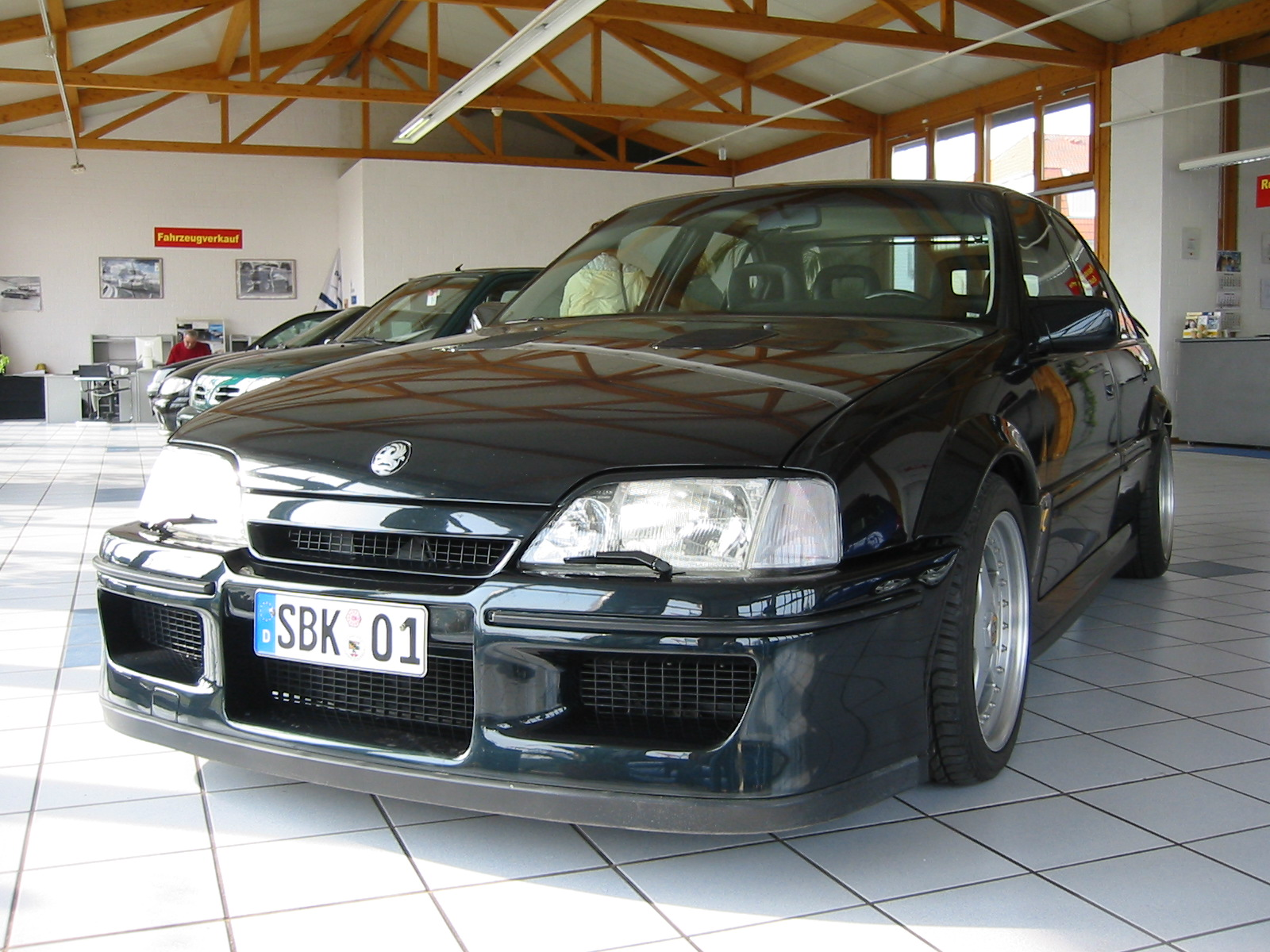 EXOTIC CARS O OPEL LOTUS OMEGA  3