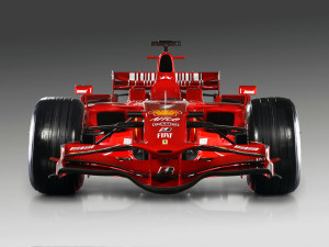 F2008 FORMULA ONE RACE CAR