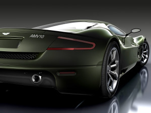 ASTON MARTIN AMV10 CONSEPT CAR