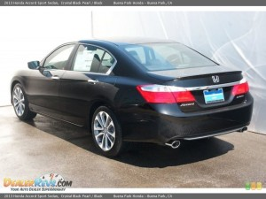 HONDA ACCORD SPORT SEDAN CRYSTAL BLACK PEARL CAR