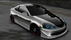 HONDA INTEGRA TUNING CAR