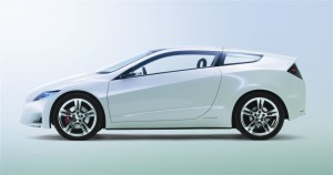 HONDA CR Z HYBRID SPORTS CAR