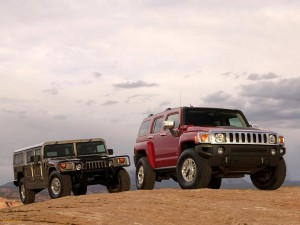 HUMME H1 AND HUMMER H3  CAR