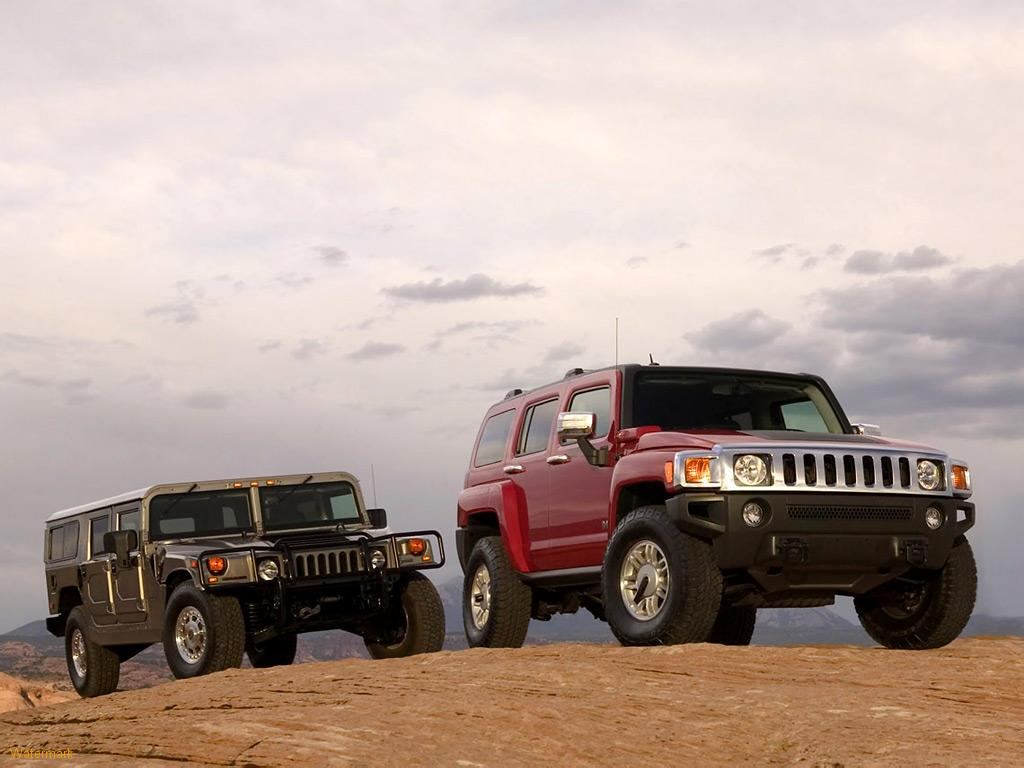 HUMME H1 AND HUMMER H3  CAR 11