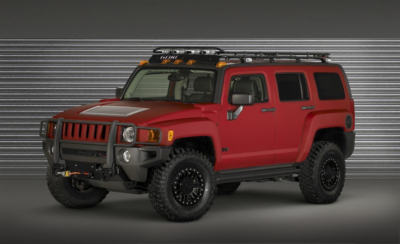 HUMMER H3 ALPHA FOUR WHEELER PROJECT TRAILHUGGER CONCEPT 10