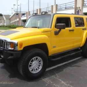 HUMMER H3 IN YELLOW 252501 JAX SPORTS CARS