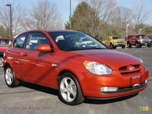 HYUNDAI ACCENT SE COUPE CAR