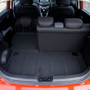 HYUNDAI I10 RED COLOR OPTION INTERIOR FOLDING SIT CAR