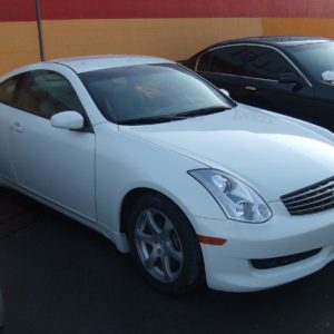 INFINITI G35 COUPE AND SEDAN  CAR
