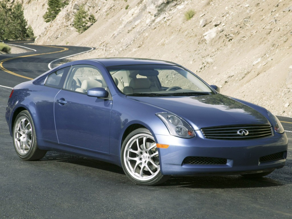 INFINITI G35 COUPE 2003  CAR