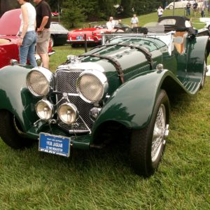 JAGUAR SS 100 ROADSTER  CAR