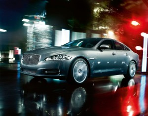 JAGUAR XJ 2010 FRONT SIDE VIEW
