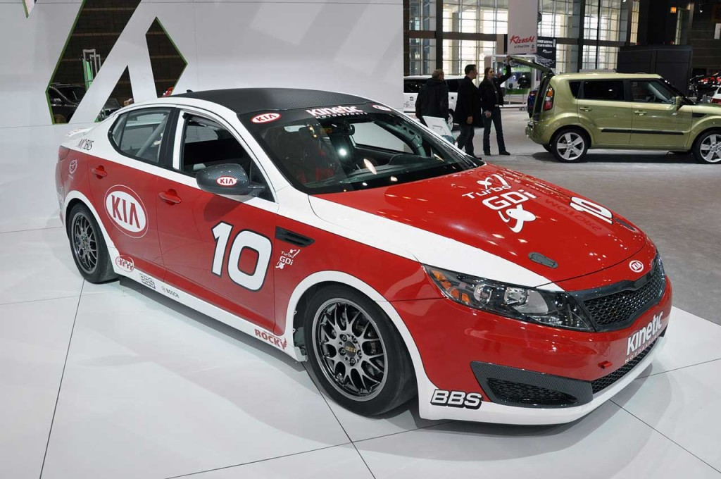 KIA OPTIMA RACE CAR