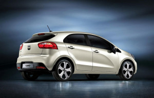 KIA RIO REAR CAR REVIEWS